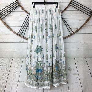 Dresses & Skirts - Boho Skirt Free Size Festival Art To Wear Hippie